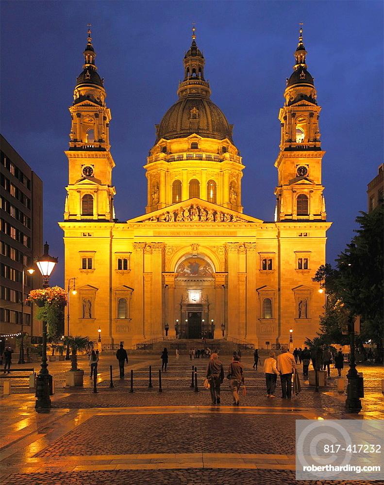 Hungary, Budapest, St Stephens Basilica,