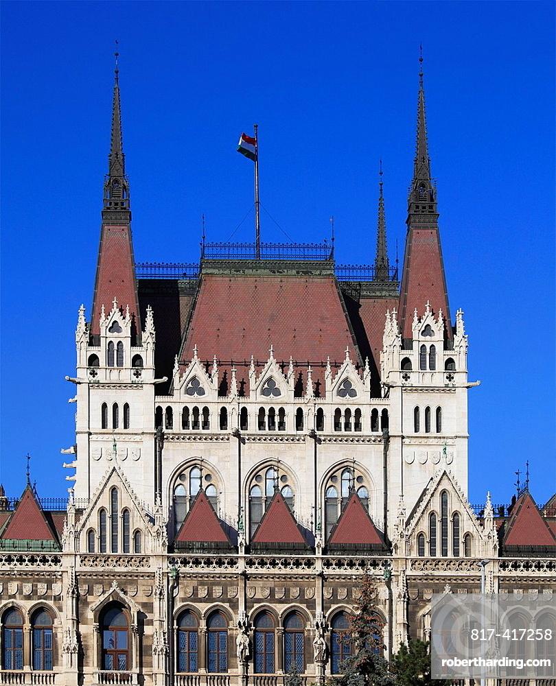 Hungary, Budapest, Parliament,