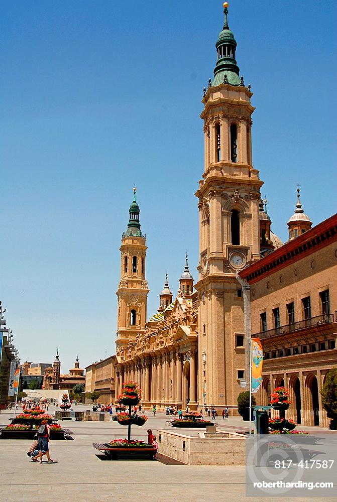 Zaragoza, Aragon, Autonomous Community of Aragon, Ebro Valley, Spain, Europe