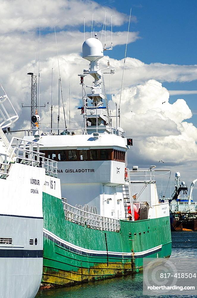 Grindavik fishing port, Iceland