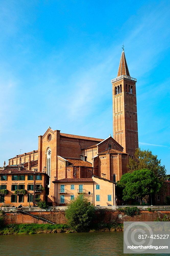 Santa Anastasia church 1492 Verona city the Veneto region northern Italy Europe