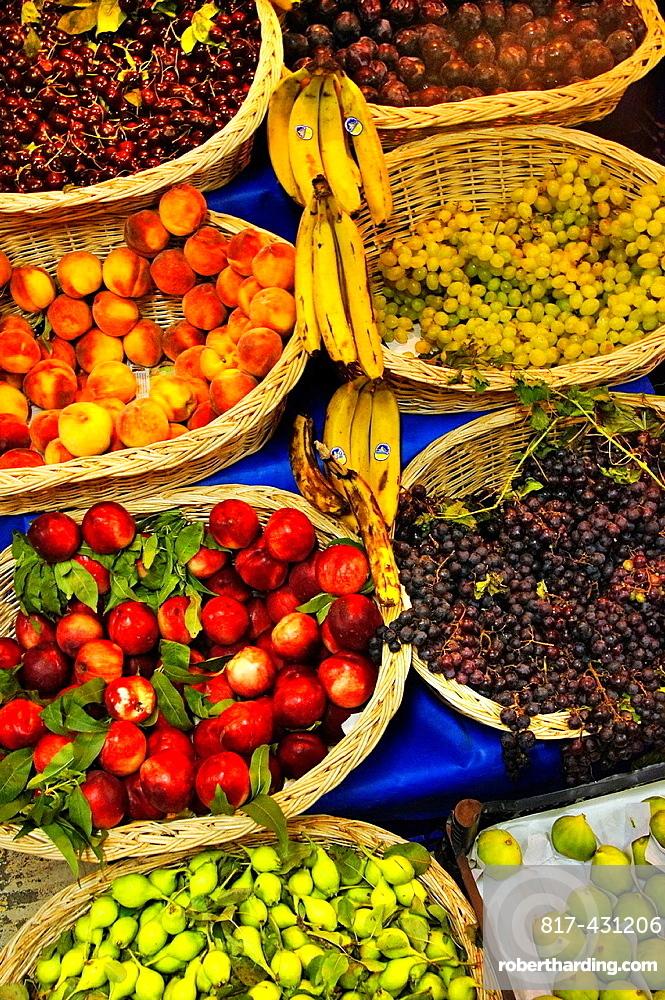 Turkey. Fruits stand at Antalya.