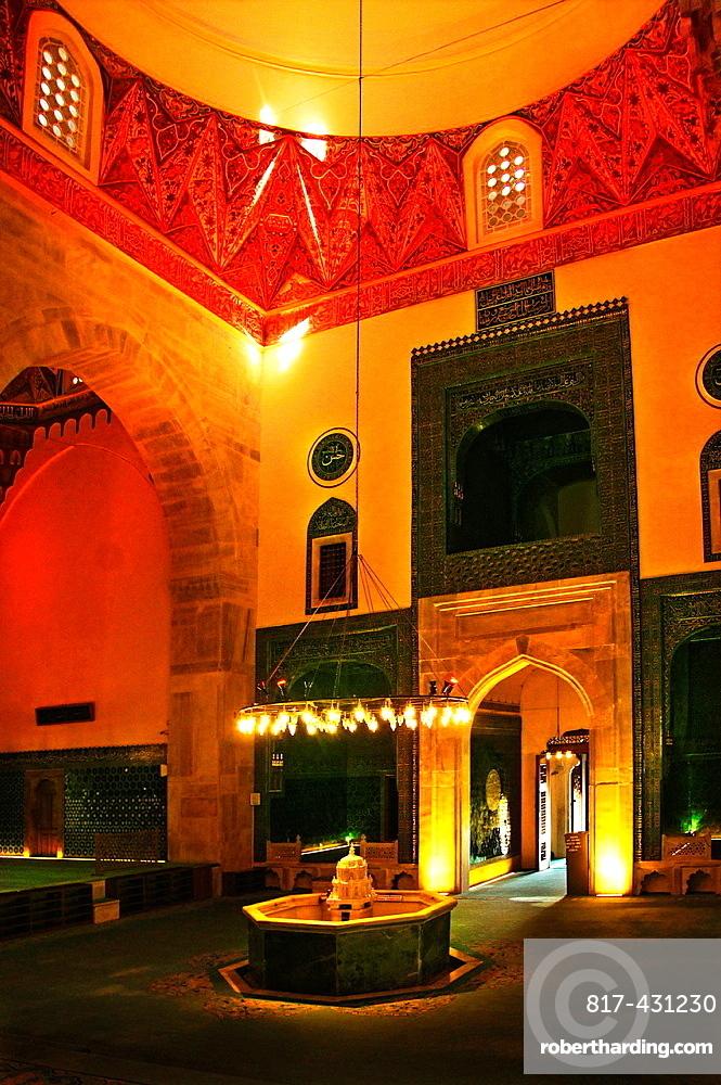 Yesil Cami (Green Mosque, 1425), Bursa, Turkey