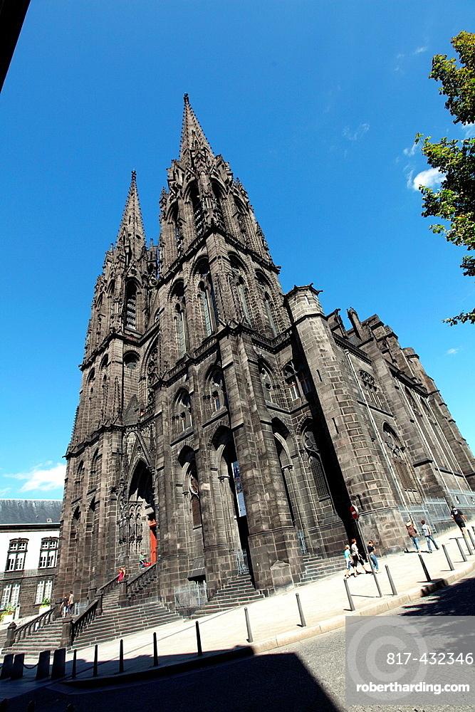 Cathedral, Clermont-Ferrand, Puy-de-Dome, Auvergne, France
