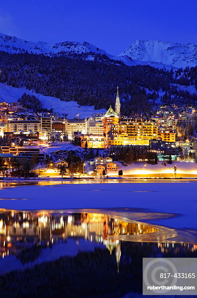 Saint Moritz, Graubunden Canton, Switzerland