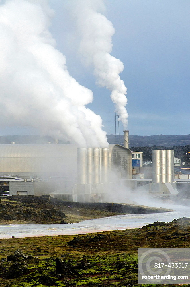 Reykjahlid geothermal factory, Iceland