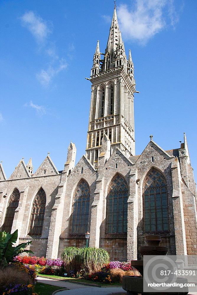 Saint-Pol de Leon, The Kreisker, Finistere, Brittany.