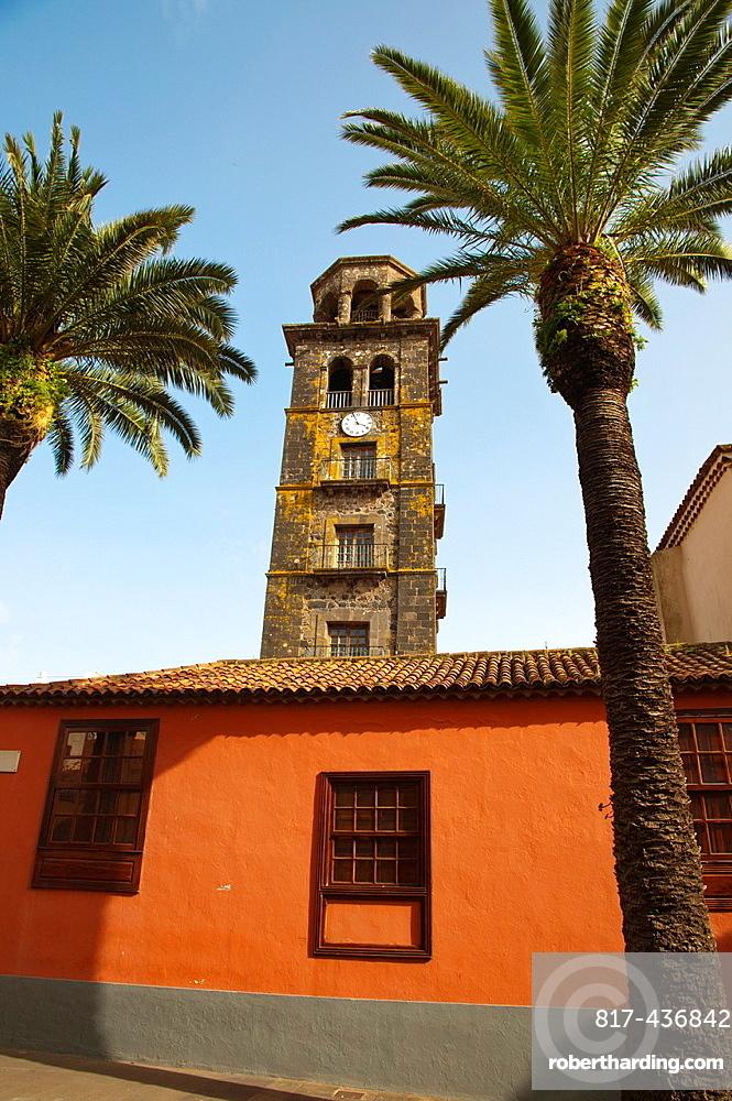 Iglesia de Nuestra Senora de la Concepcion church Plaza de la Conception square San Cristobal de La Laguna city Tenerife the Canary Islands Spain Europe