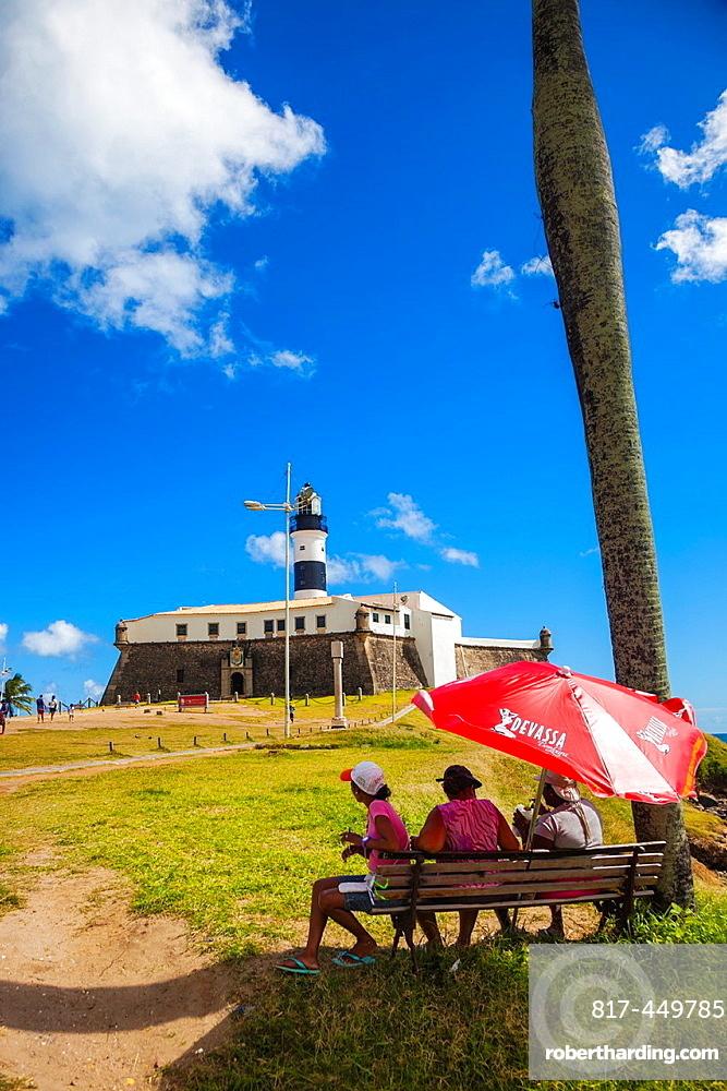 Farol da Barra lighthouse, Salvador, Bahia, Brazil