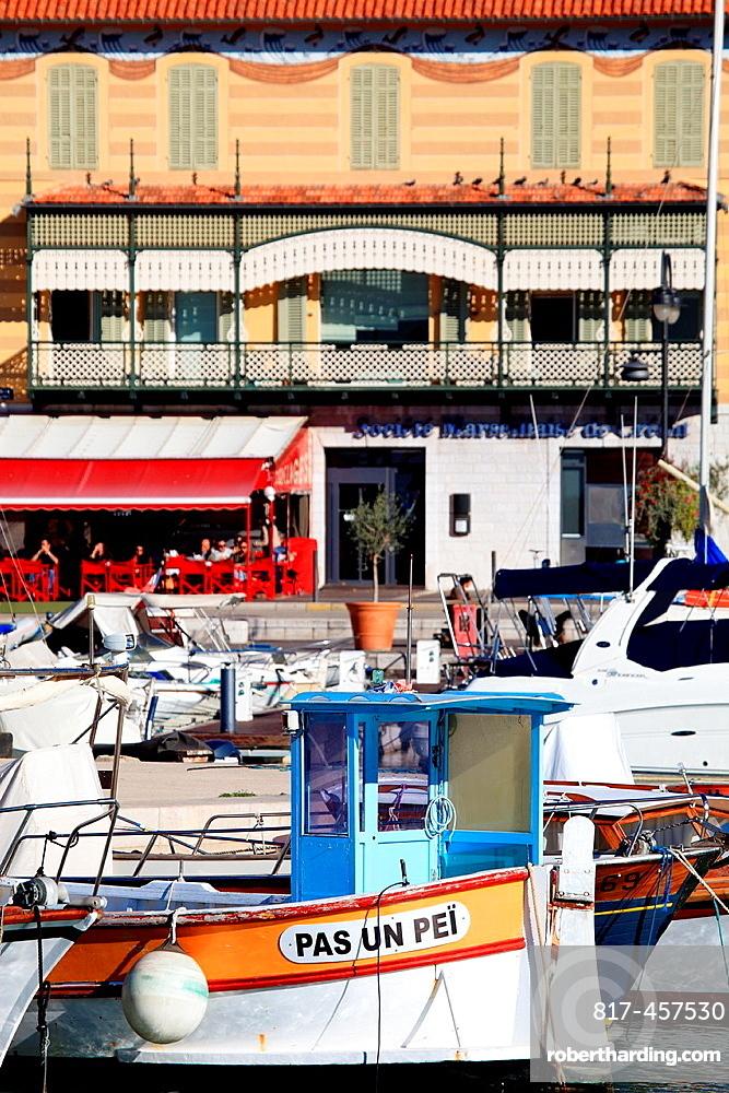 The coastal city of Cassis, Bouches du Rhone, Provence-Alpes-Cote d'Azur, France