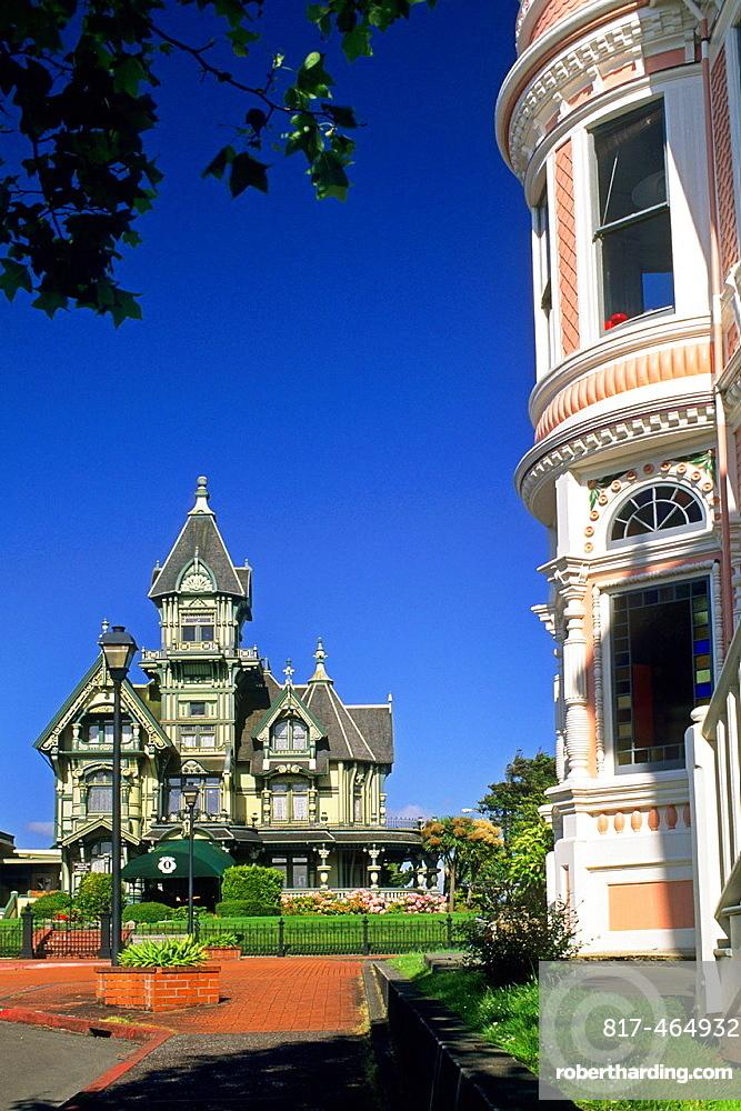 The victorian Carson Mansion, Eureka, Humboldt County, CALIFORNIA.