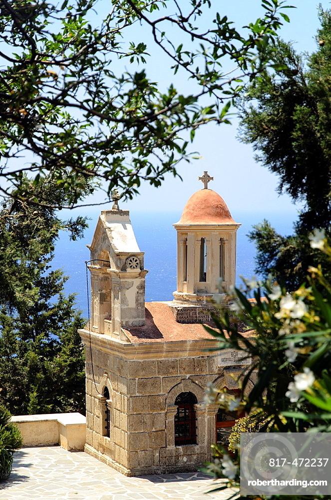 Chapel near the Rear (Piso) Monastery of Saint John the Theologian - Preveli, Crete, Greece.