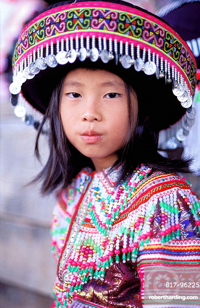 Cacao village, Hmong (from Laos) ethnic group, New year festival, French Guiana, France