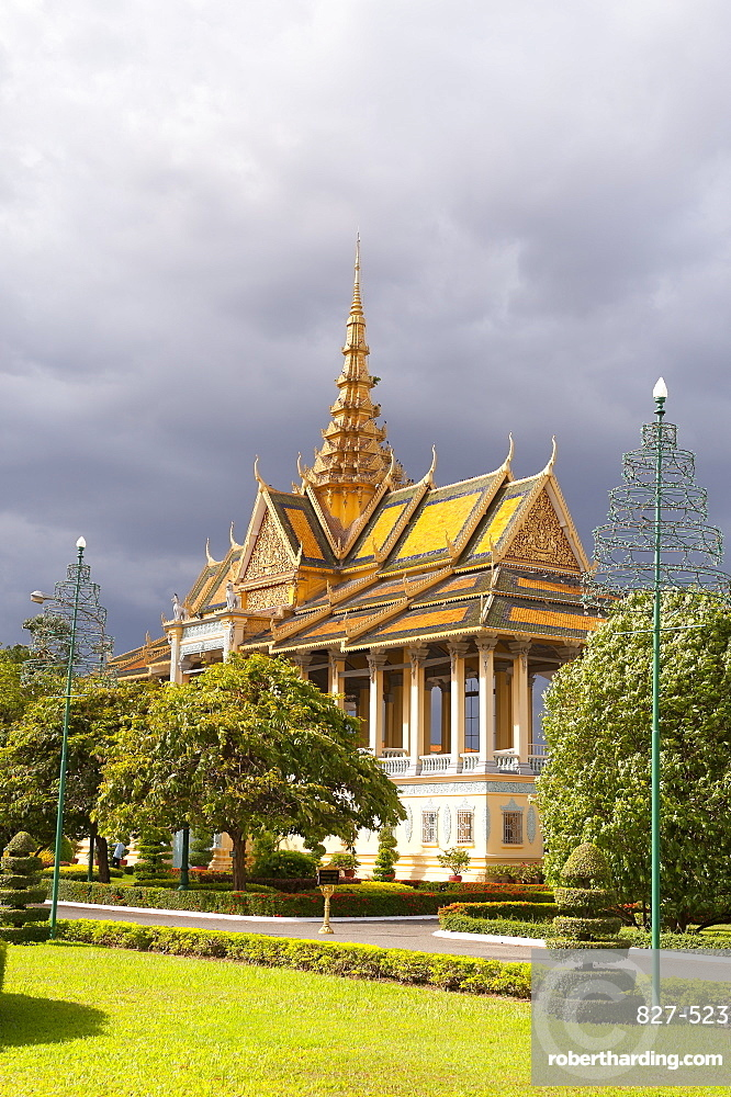 Moonlight Pavilion, Royal Palace, Phnom Penh, Cambodia, Indochina, Southeast Asia, Asia