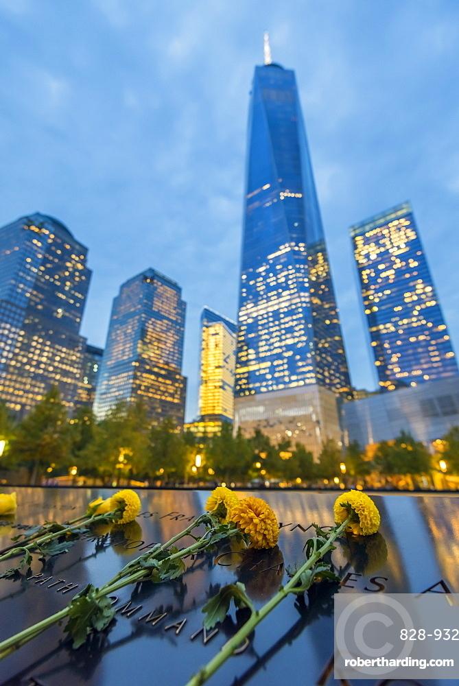 World Trade Center, Freedom Tower (One World Trade Center), Downtown, Manhattan, New York, United States of America, North America