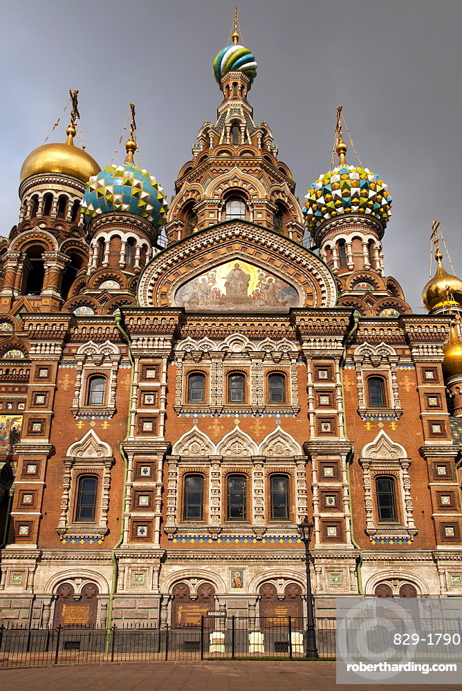 The Church of our Saviour on Spilled Blood, UNESCO World Heritage Site, St. Petersburg, Russia, Europe