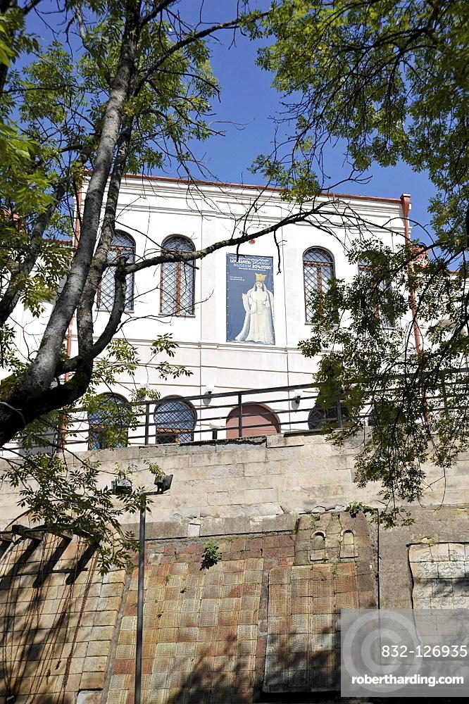 Niko Pirosmani collection, museum, Sighnaghi, Kakheti, Georgia, Western Asia