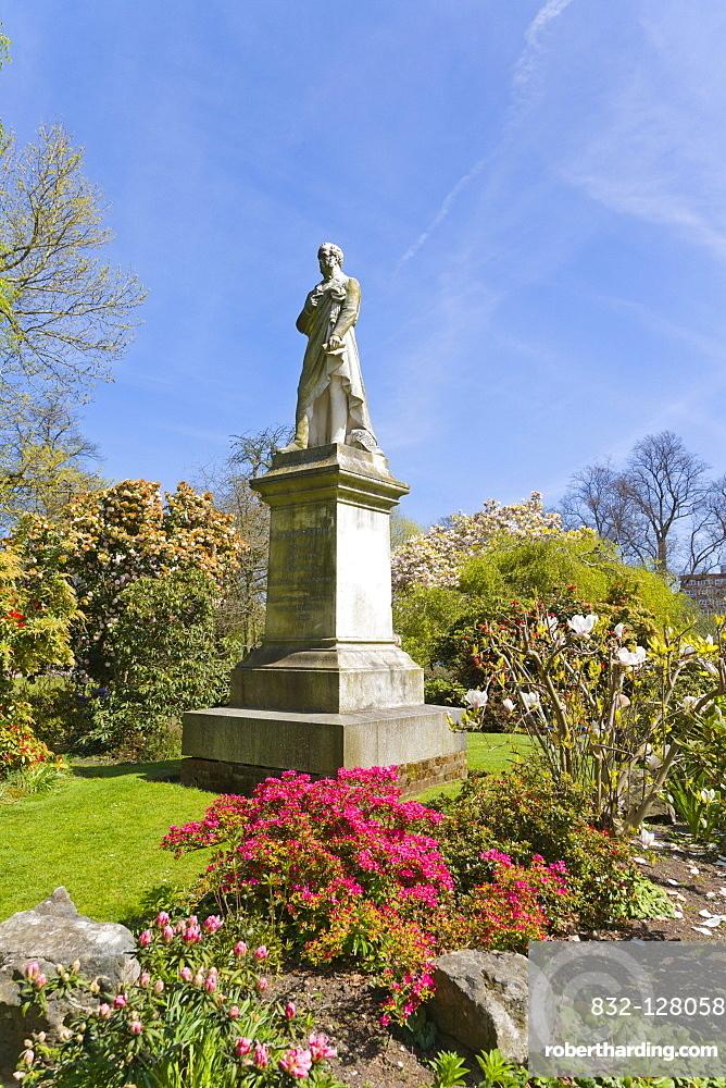 Statue of Lord Palmerston, Palmerston Park, Southampton, Hampshire, England, United Kingdom, Europe