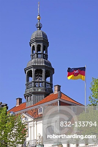 Town Hall, Lueneburg, Lower Saxony, Germany, Europe