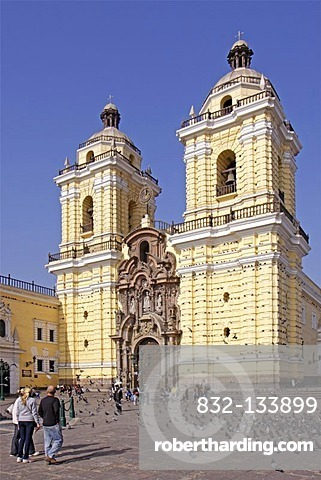 San Francisco Monastery, Lima, Peru, South America