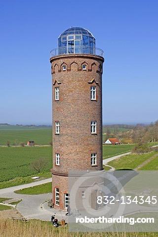 Marinepeilturm lighthouse, Cape Arkona, Ruegen Island, Mecklenburg-Western Pomerania, Germany, Europe