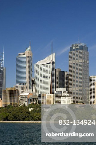 Modern high-rise buildings, Sydney, New South Wales, Australia