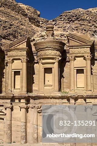 The Monastery, Al Deir, Petra, Jordan, southwest Asia