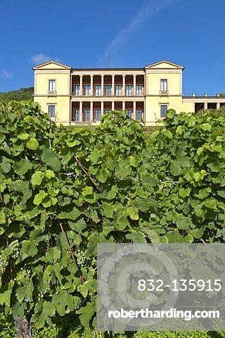 Villa Ludwigshoehe, near Edenkoben, German Wine Route, Palatinate region, Rhineland-Palatinate, Germany, Europe