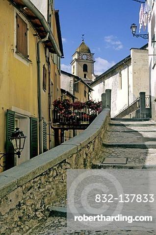 Village of Saorgue, Alpes Maritimes, France, Europe