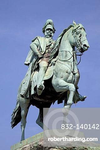 Monument to Kaiser Wilhelm, equestrian statue, Cologne, North Rhine-Westphalia, Germany, Europe