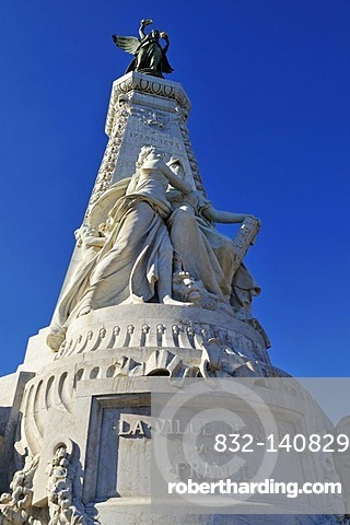 Historic Monument at Espace Jacques Cotta, Nice, Department Alpes-Maritimes, Region Provence-Alpes-Cote d'Azur, France, Europe