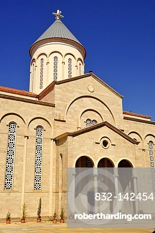 St Nichan Cathedral in the historic centre of Beirut, Lebanon, Middle East, Asia