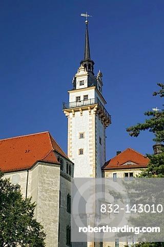 Schloss Hartenstein castle, Torgau, Saxony, Germany, Europe
