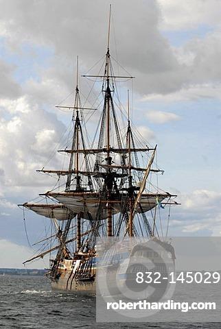 Full scale replica East Indiaman