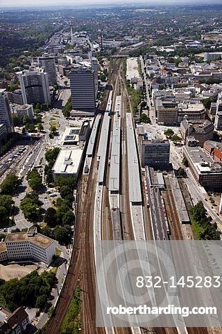 The main station of Essen, North Rhine-Westphalia, Germany, Europe