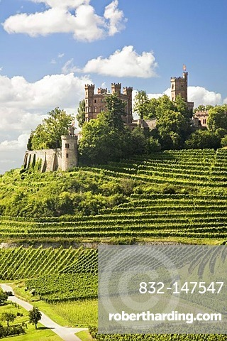 Ortenberg Castle, near Offenburg, Black Forest, Baden-Wuerttemberg, Germany, Europe