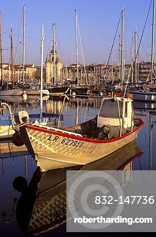 Old port, La Rochelle, Poitou-Charentes, Charente-Maritime, France, Europe