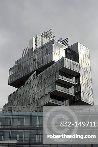 Modern architecture, Norddeutsche Landesbank, headquarters of the Nord LB at the Friedrichswall, Hannover, Lower Saxony, Germany, Europe
