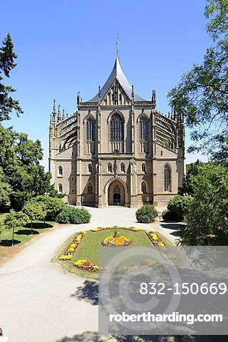 St. Barbara Church, Kutna Hora, Czech Republic, Europa