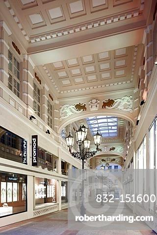 Kruegerpassage shopping arcade, Krueger House, Dortmund, Ruhr Area, North Rhine-Westphalia, Germany, Europe