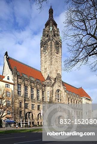 Charlottenburg town hall, Charlottenburg district, Berlin, Germany, Europe