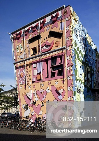 Happy-Rizzi-Haus office building, Braunschweig, Lower Saxony, Germany, Europe