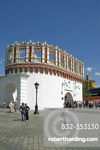 Kutafya Tower of the Kremlin, Moscow, Russia