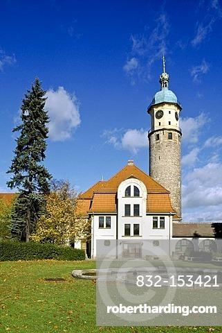 Neideckturm tower, Arnstadt, Thuringia, Germany, Europe