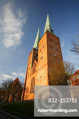 Cathedral, Luebeck, Schleswig-Holstein, Germany, Europe