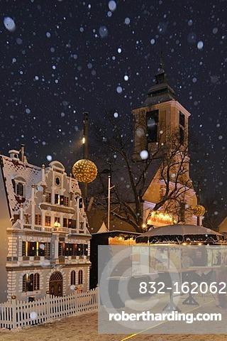 Christmas market, Leobersdorf, Triestingtal, Lower Austria, Austria, Europe