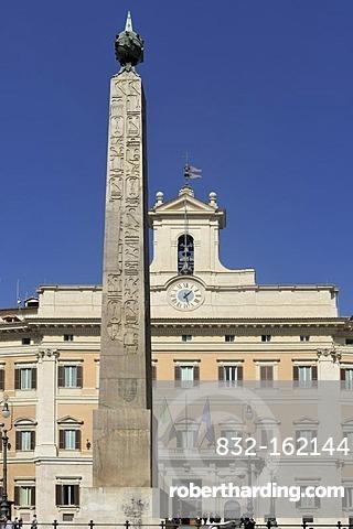 Palazzo di Montecitorio Chamber of Deputies, Rome, Lazio, Italy, Europe