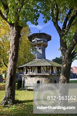 Pigeon house at Kloster Oelinghausen convent, Arnsberg, North Rhine-Westphalia, Germany, Europe