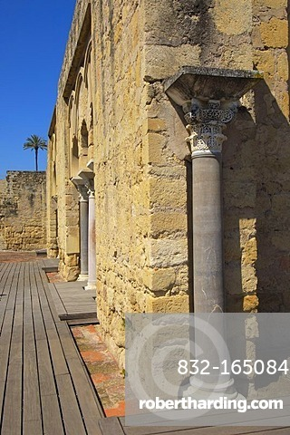 Ruins of Medina Azahara, palace built by Caliph Abd al-Rahman III, Cordoba, Andalusia, Spain, Europe