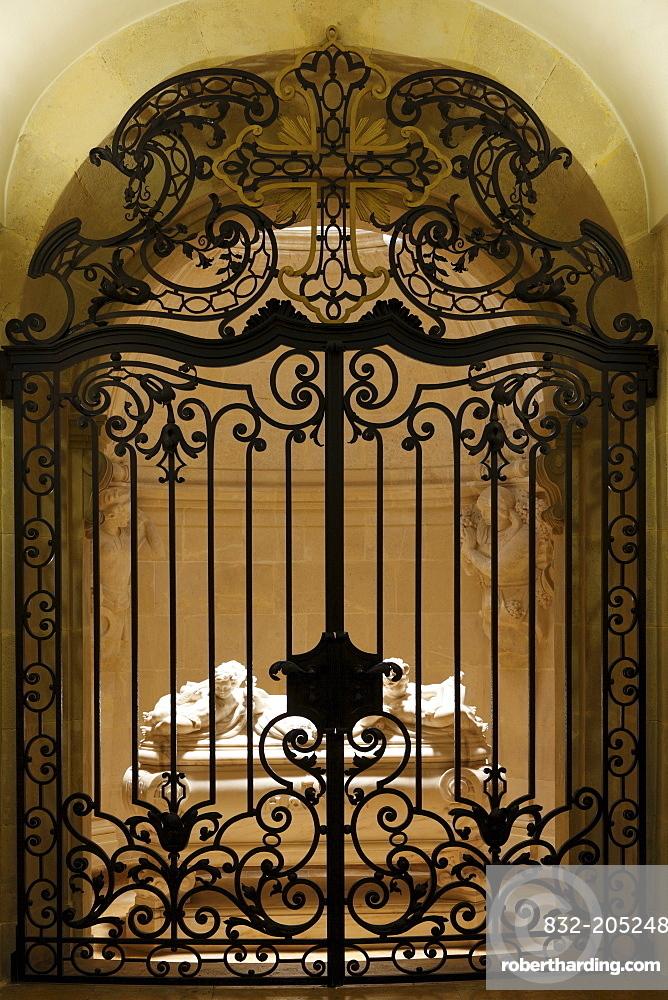 Haydn mausoleum at the Bergkirche church, Eisenstadt, Burgenland, Austria, Europe